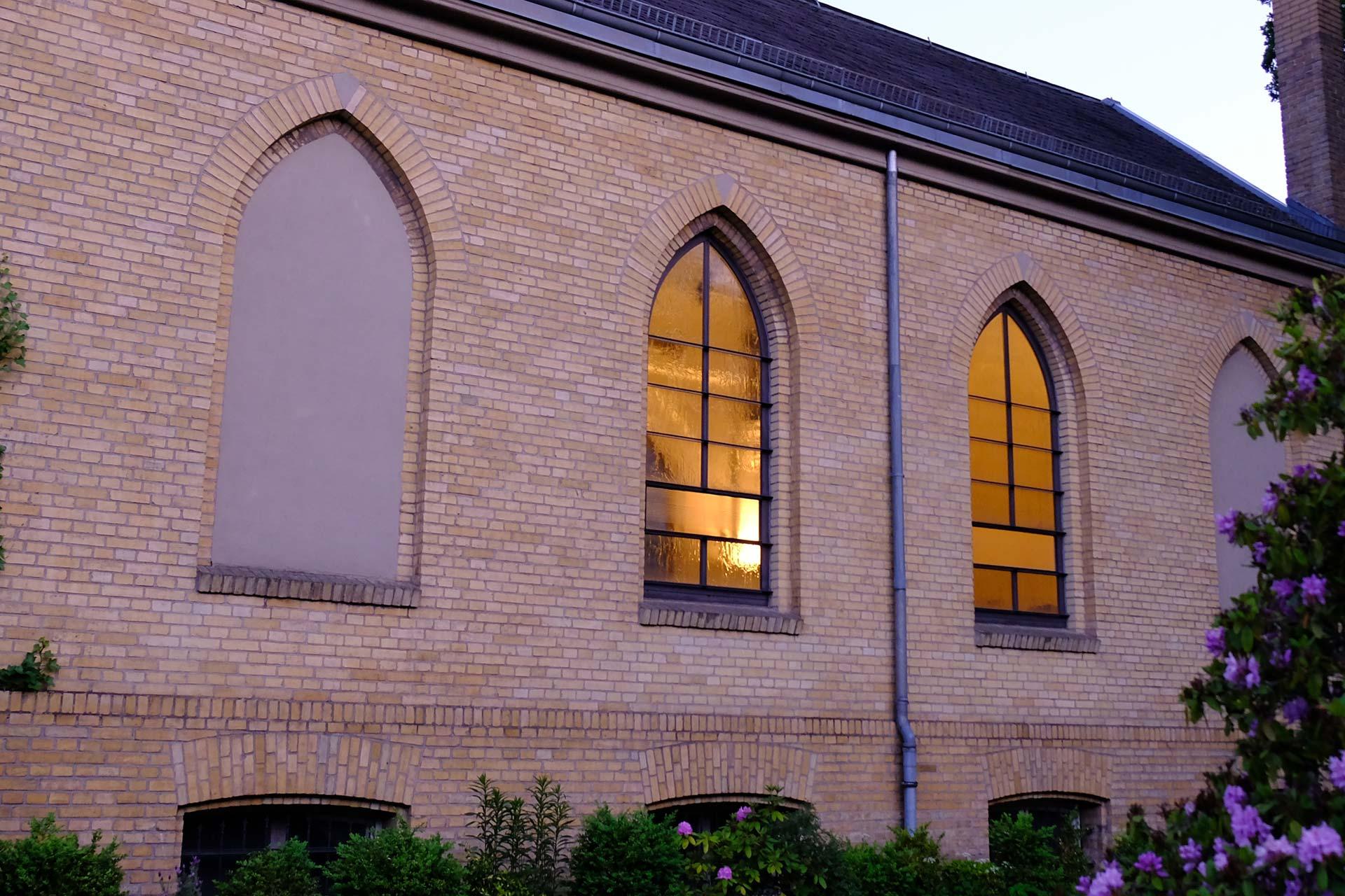 Buckminster-Church-Totale